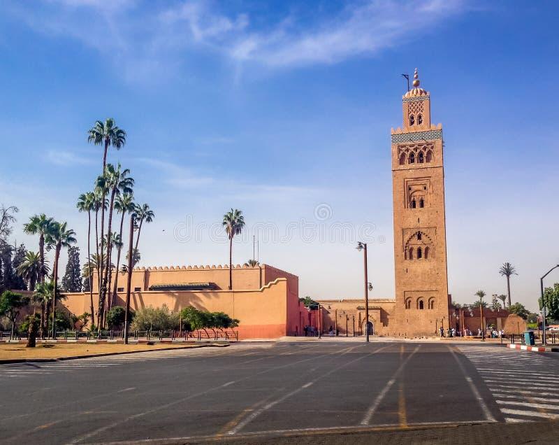 Mezquita de Koutubia - Marakech, Marruecos fotografía de archivo