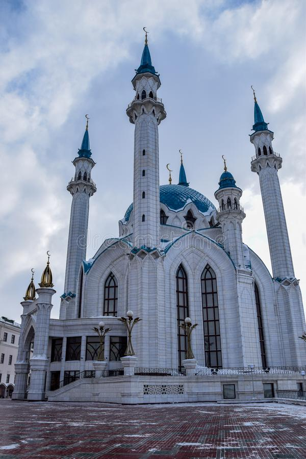 Mezquita de Kul-Sharif fotografía de archivo