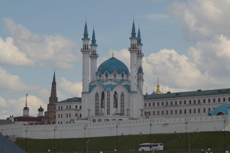 Mezquita de Kul-Sharif imágenes de archivo libres de regalías