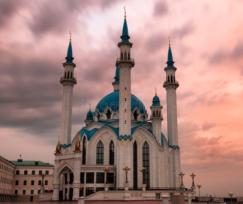 Mezquita de Kul-Sharif, visión general foto de archivo libre de regalías