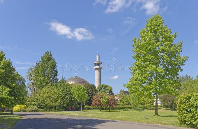 Mezquita de la ciudad fotos de archivo