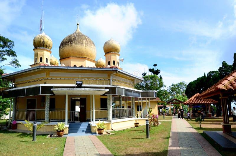 Mezquita de la colina de Penang imagen de archivo