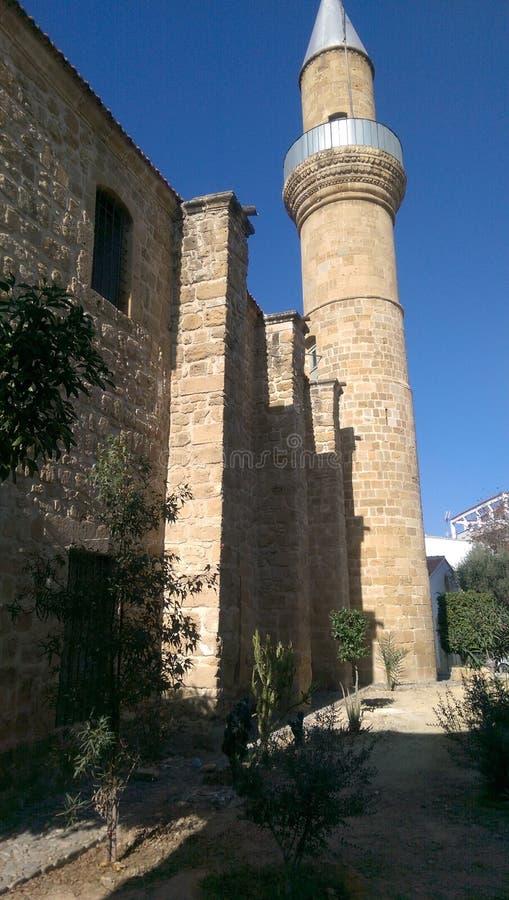 Mezquita de la era del otomano en Nicosia fotos de archivo