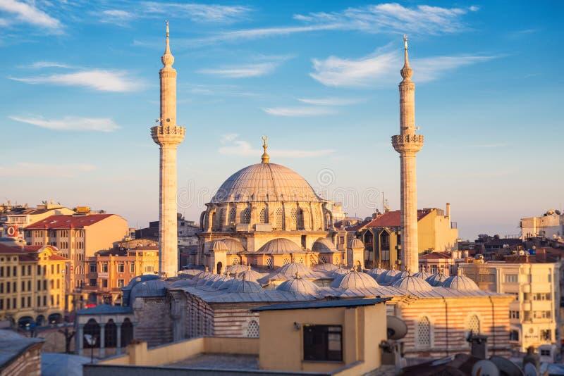 Mezquita de Laleli en Estambul fotos de archivo libres de regalías