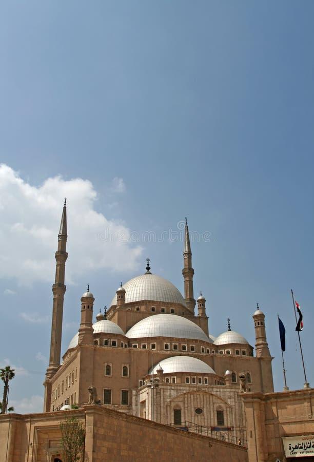 Mezquita de Mohammed Ali fotografía de archivo