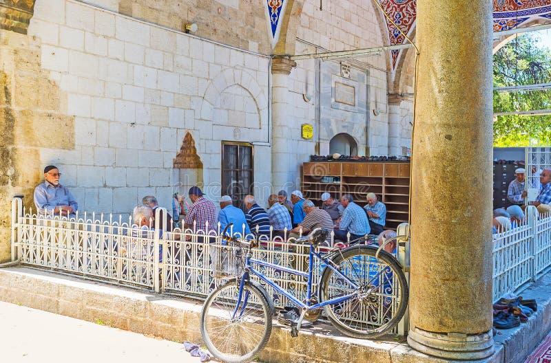 Download Mezquita De Muratpasa En Antalya El Viernes Imagen de archivo editorial - Imagen de cityscape, edificio: 100530719