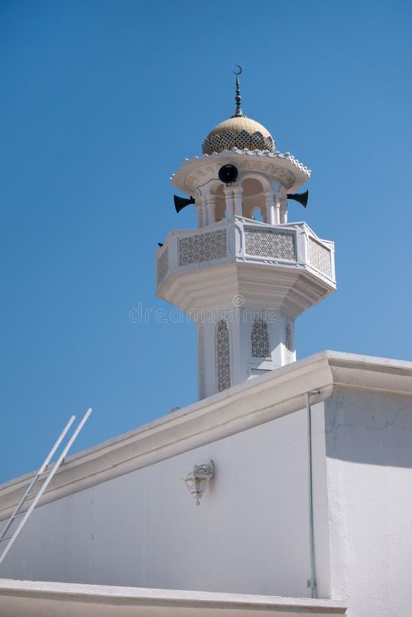 Mezquita de Muscat fotografía de archivo libre de regalías