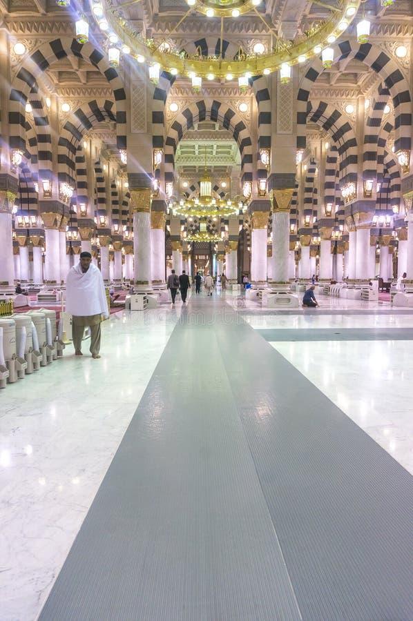 Mezquita de Nabawi imagenes de archivo