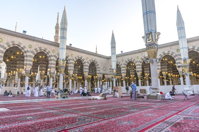 Mezquita de Nabawi foto de archivo libre de regalías