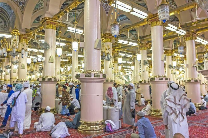 Mezquita de Nabawi fotos de archivo libres de regalías
