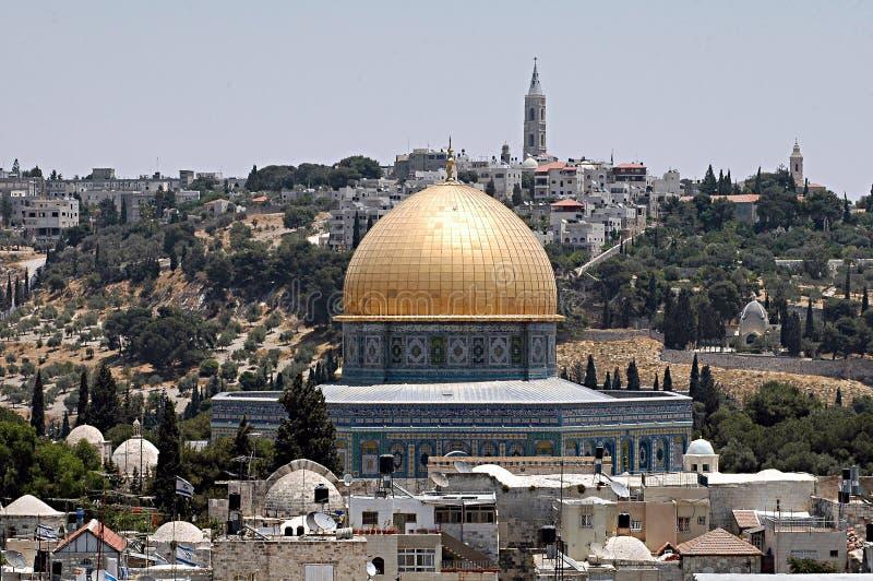 Mezquita de oro fotos de archivo