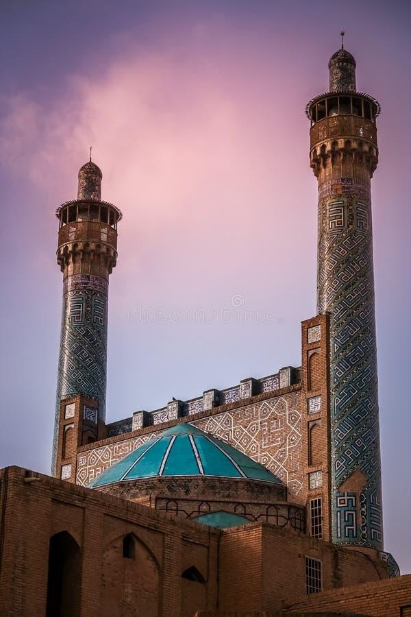 Mezquita de Qazvin imágenes de archivo libres de regalías
