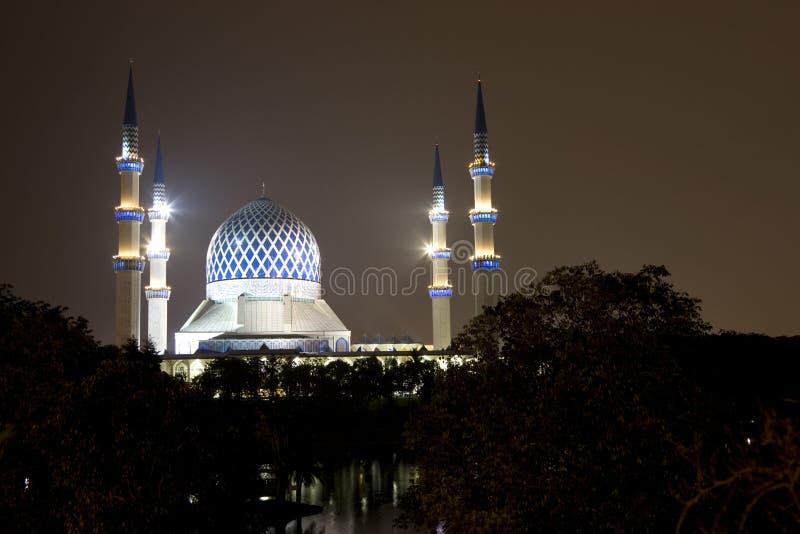 Mezquita de Salahuddin Abdul Aziz Shah del sultán fotografía de archivo