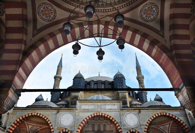 Mezquita de Selimiye en Edirne imágenes de archivo libres de regalías