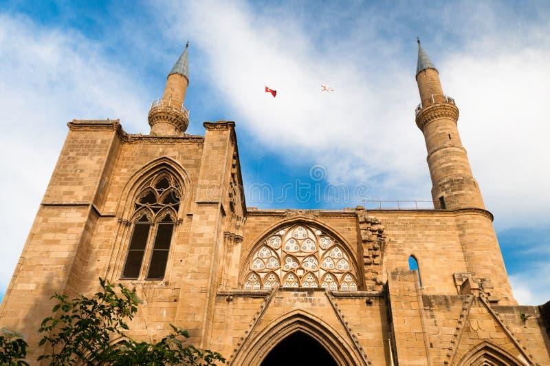 Mezquita de Selimiye nicosia chipre imágenes de archivo libres de regalías