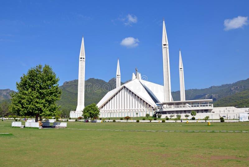 Mezquita de Shah Faisal foto de archivo
