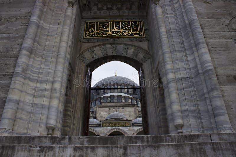 Download Mezquita de Suleymaniye imagen de archivo. Imagen de exterior - 41904291