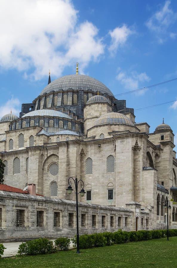 Mezquita de Suleymaniye, Estambul foto de archivo