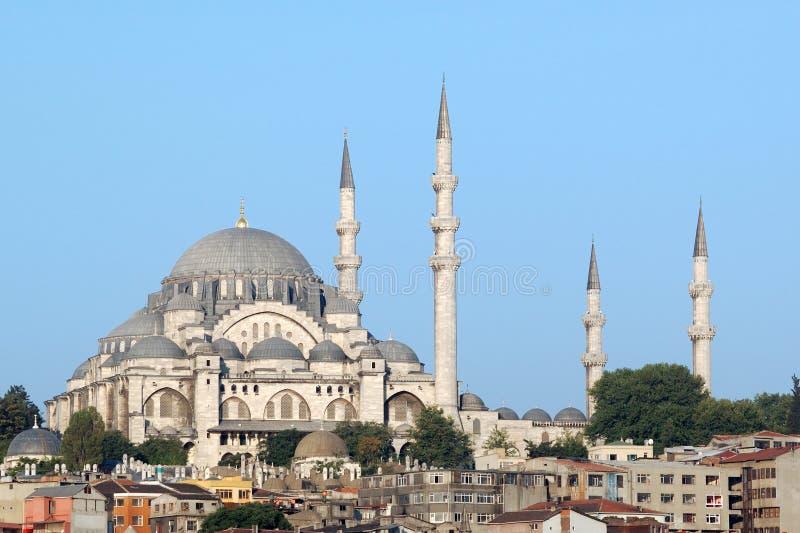 Mezquita de Suleymaniye, Estambul, pavo foto de archivo