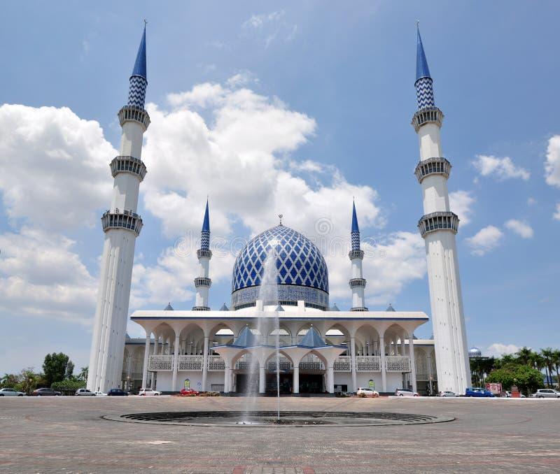 Mezquita de Sultan Salahuddin Abdul Aziz Shah imágenes de archivo libres de regalías