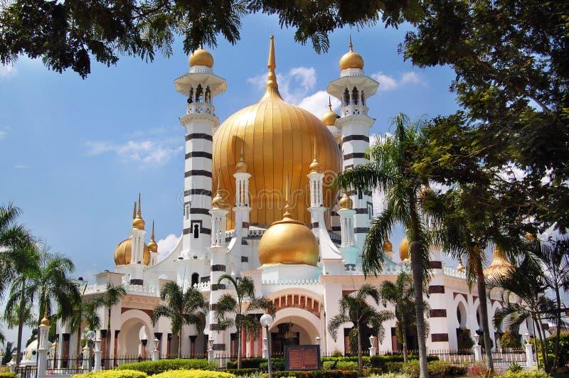Mezquita de Ubudiah en Kuala Kangsar, Perak, Malasia fotografía de archivo
