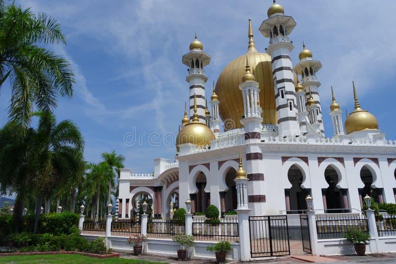 Mezquita de Ubudiyah, Kuala Kangsar, Perak imagen de archivo libre de regalías
