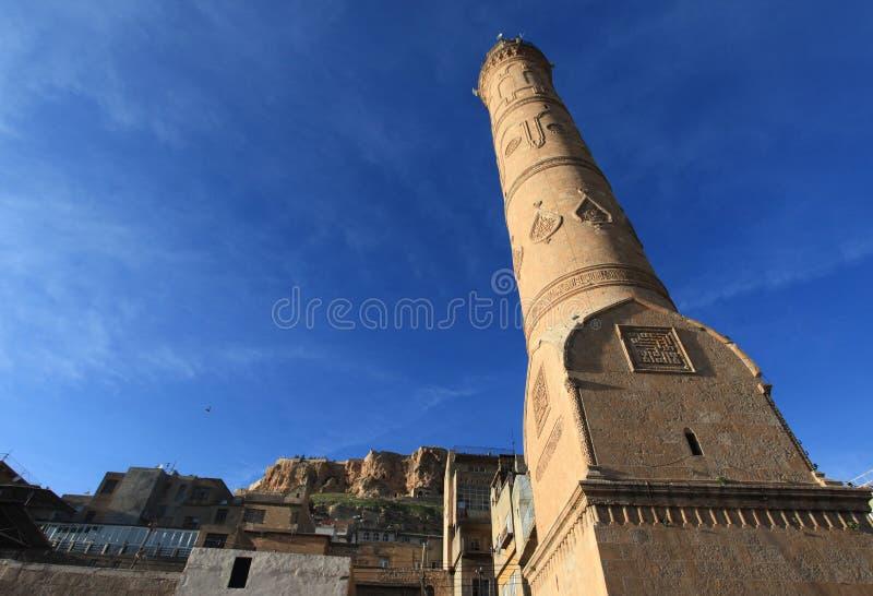 Mezquita de Ulu en la ciudad de Mardin imagenes de archivo