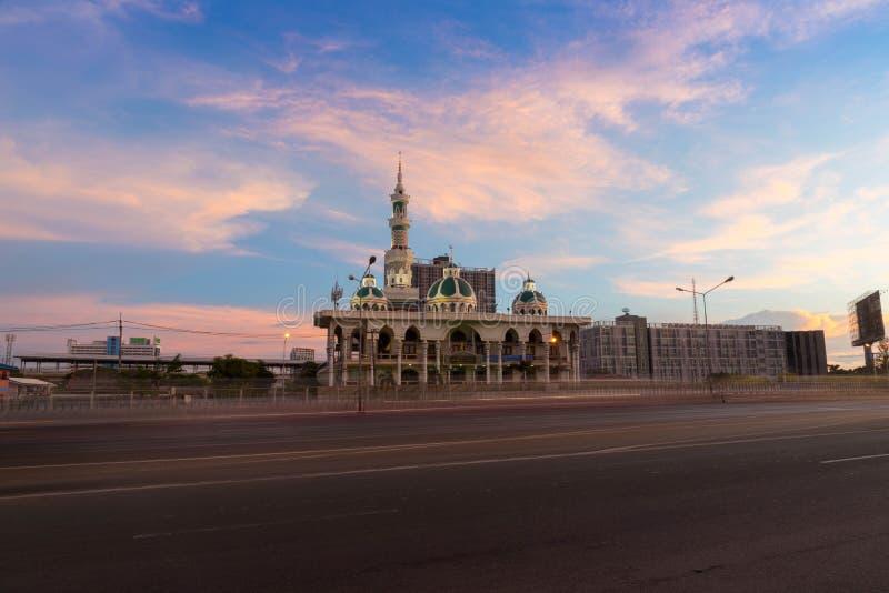 Mezquita de YAMIUN ITHAT HUA MAK YAI en Bangkok, Tailandia imagenes de archivo