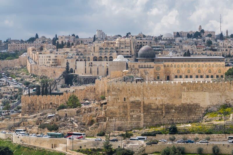 Mezquita del al-Aqsa fotos de archivo libres de regalías