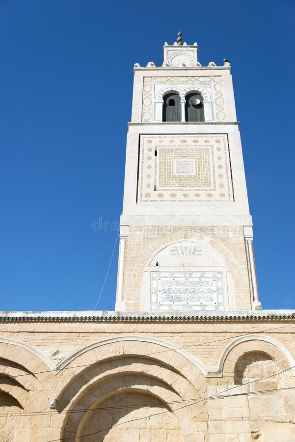 Mezquita del al-Zaytuna, Túnez imagenes de archivo