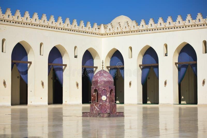 Mezquita del Amr Allah del BI de Hakim del Al en El Cairo imagenes de archivo