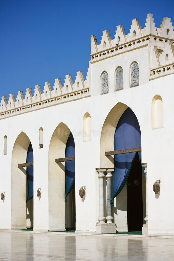 Mezquita del Amr Allah del BI de Hakim del Al en El Cairo fotografía de archivo