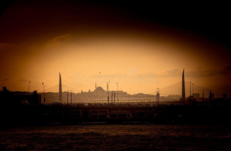 Mezquita del estilo del otomano en Estambul imagen de archivo libre de regalías