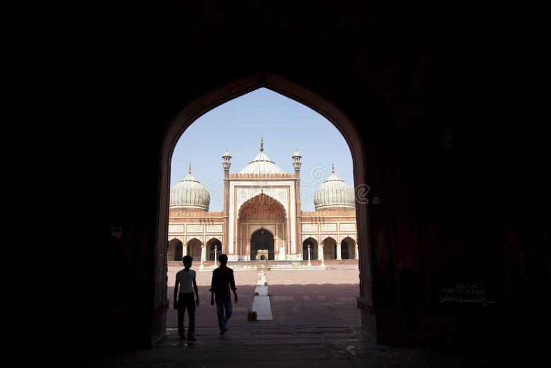 Mezquita del Jama Masjid fotografía de archivo