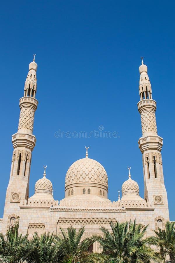 Mezquita Dubai de Jumeirah fotos de archivo libres de regalías