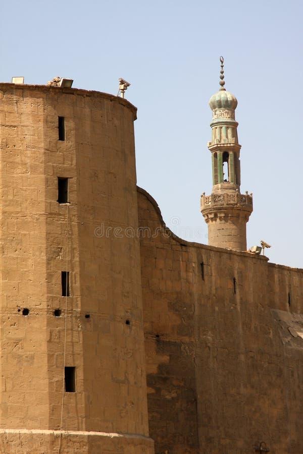 Mezquita, El Cairo, Egipto fotografía de archivo libre de regalías