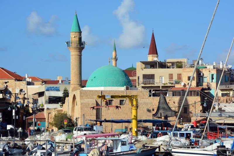 Mezquita EL-Jazzar fotos de archivo libres de regalías