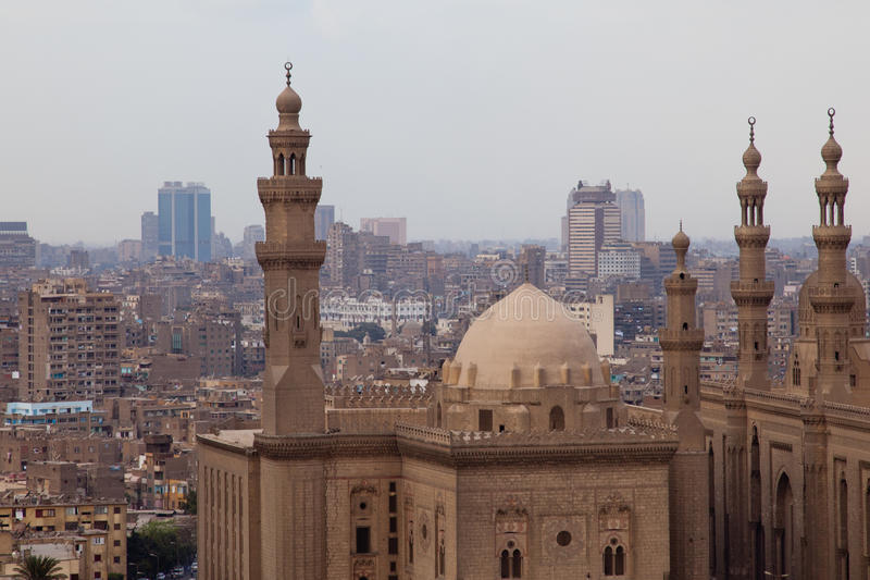 Mezquita en El Cairo, Egipto foto de archivo