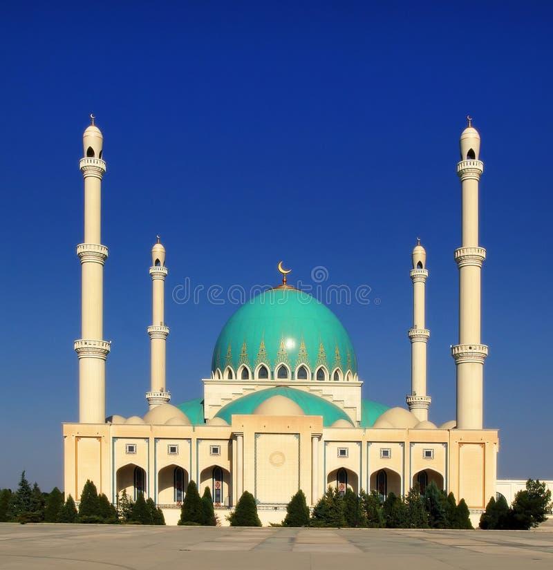 Mezquita en Geok Depe Turkmenistán fotografía de archivo