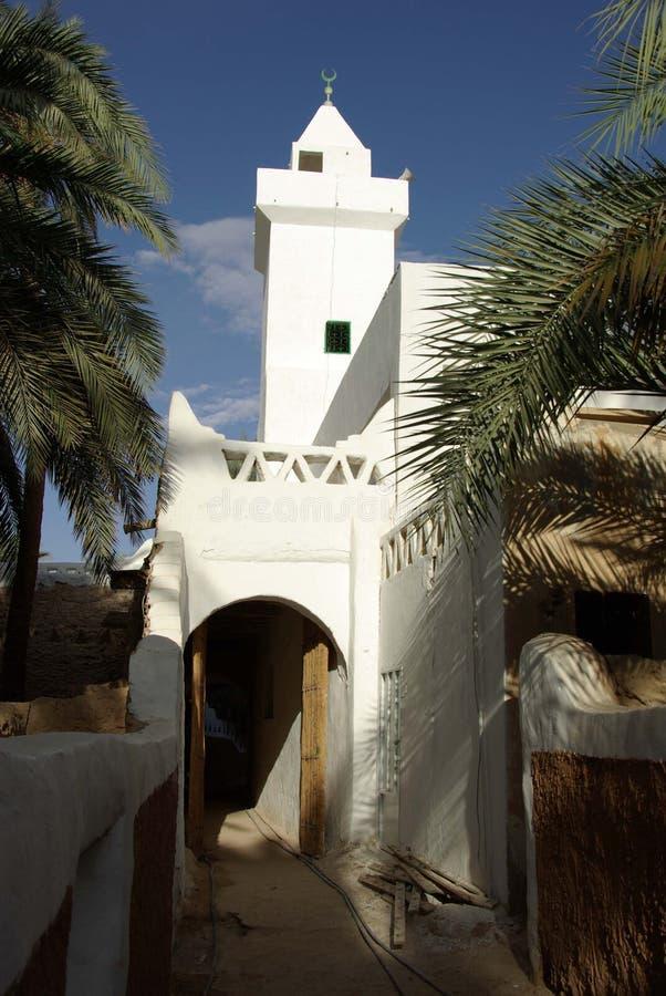 Mezquita en Ghadames, Libia imagen de archivo libre de regalías