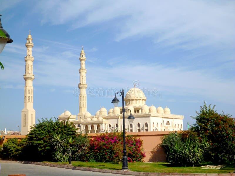 Mezquita en Hurghada imagen de archivo