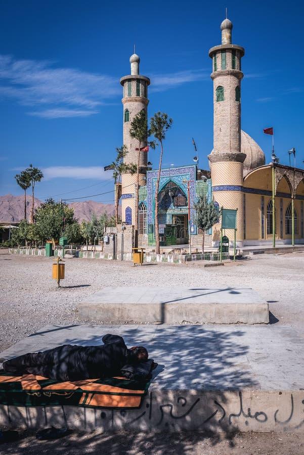Mezquita en Irán foto de archivo libre de regalías