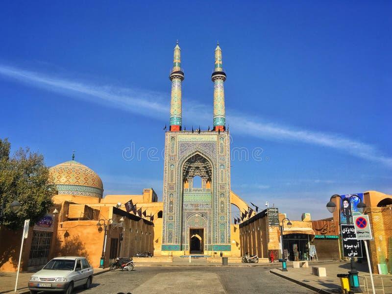 Mezquita en Irán fotos de archivo