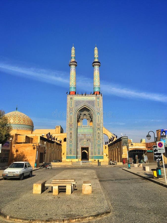 Mezquita en Irán fotografía de archivo