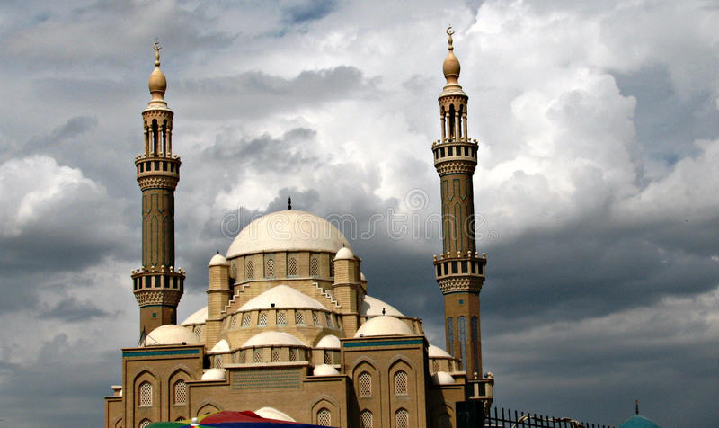 Mezquita en Iraq fotos de archivo