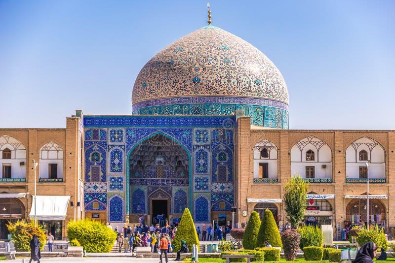 Mezquita en Isfahán fotos de archivo