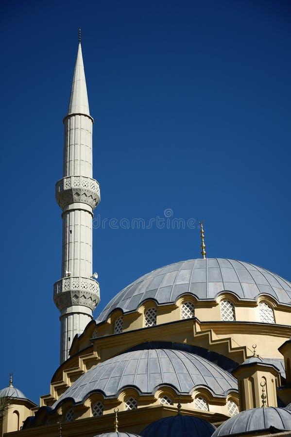 Mezquita en la cara, Turquía fotografía de archivo