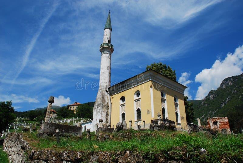 Mezquita en Travnik foto de archivo