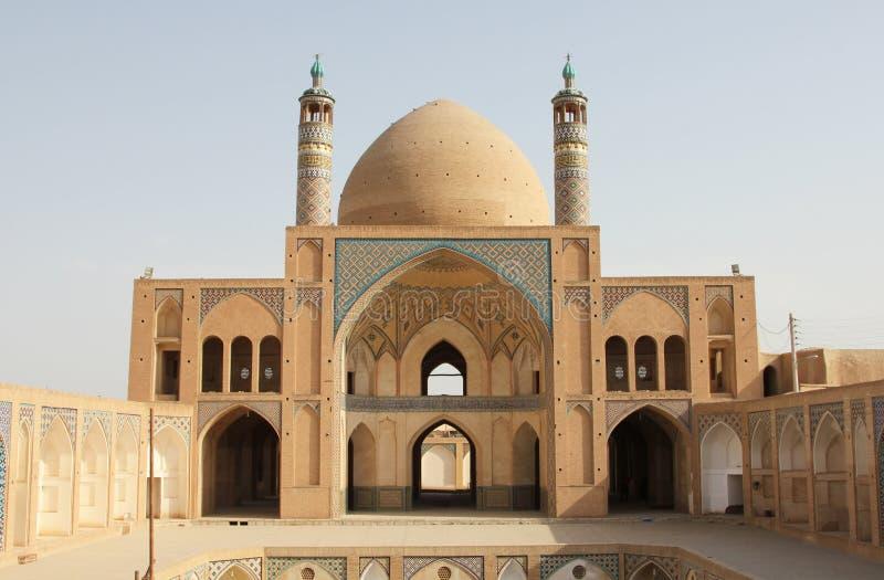 Mezquita famosa en Isfahán imagenes de archivo