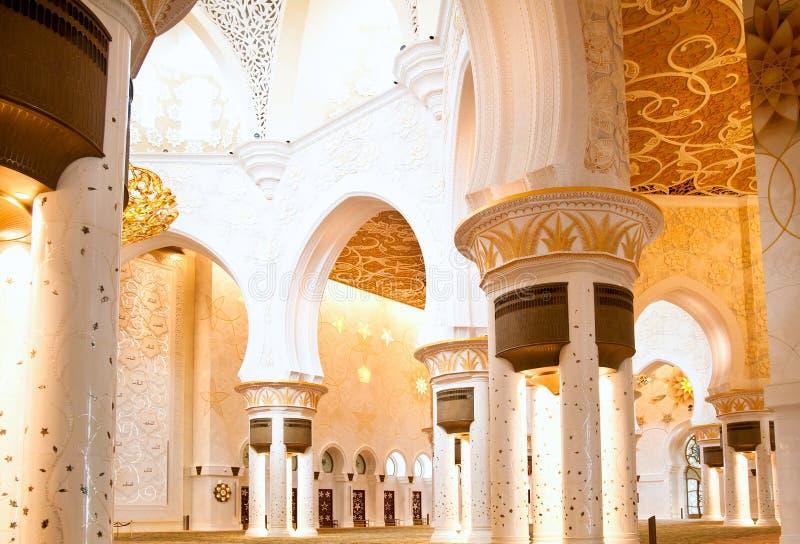 Mezquita hermosa foto de archivo libre de regalías